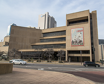 The Dallas Public Library.