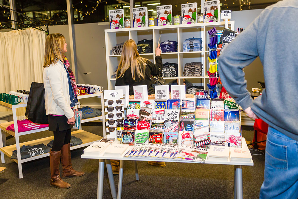 The scene at Unbranded II in December. Photo courtesy Downtown Dallas Inc.
