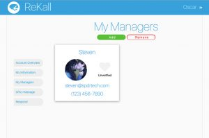 A look at the ReKall website.