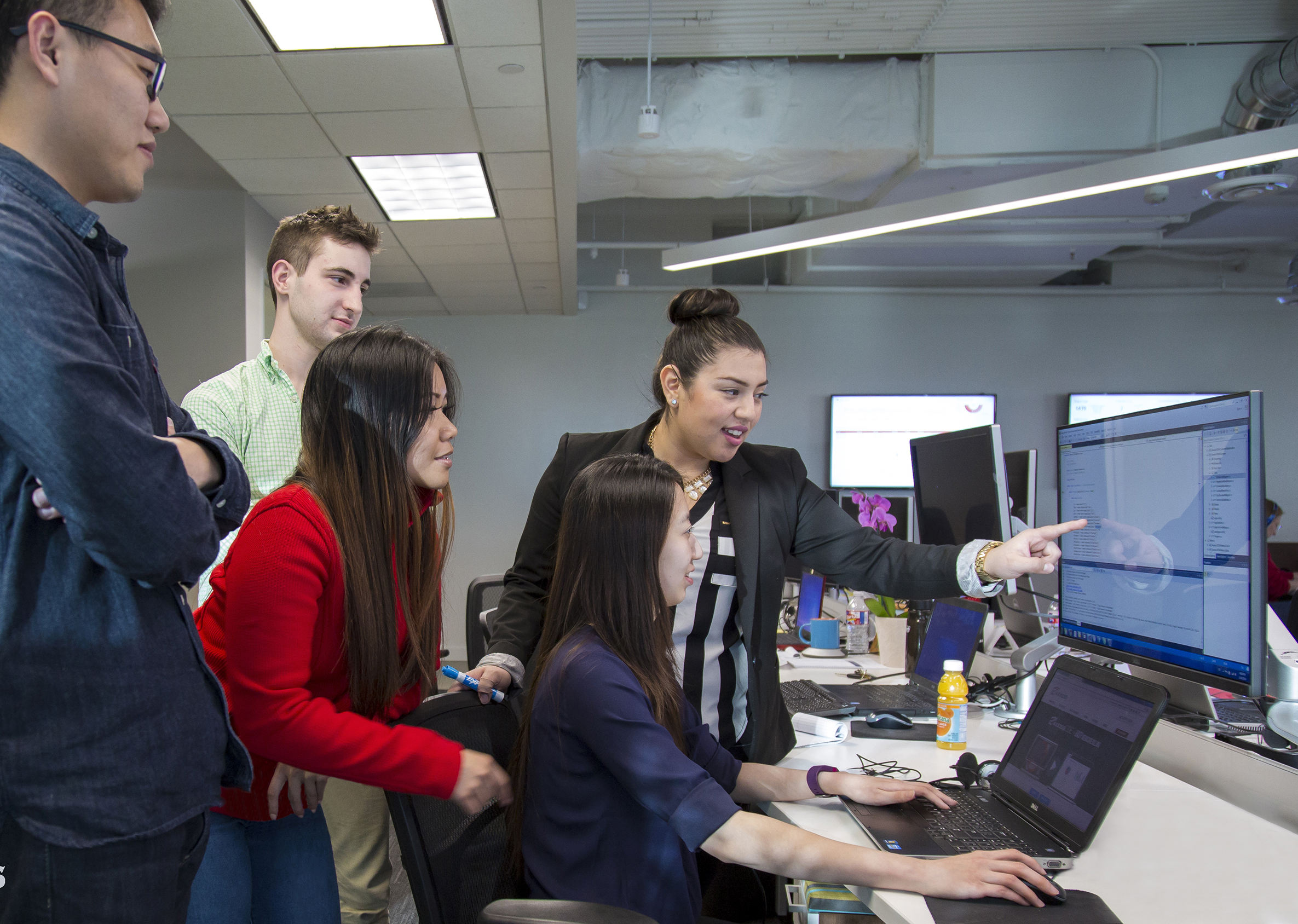 The engineering team at Axxess is a diverse one, with women taking leadership roles.