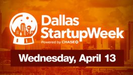 Dallas Startup Schedule for Wednesday, April 13