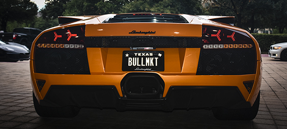 Brand and Levin helped found the Lamborghini Club of Dallas.  [ Photo: Dallas Innovates ]