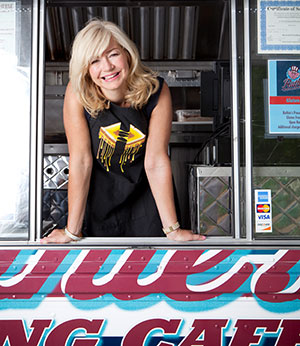 Ashlee Hunt Kleinert now has three food trucks in her Ruthie's Rolling Cafe fleet. [Photo: Justin Clemons]