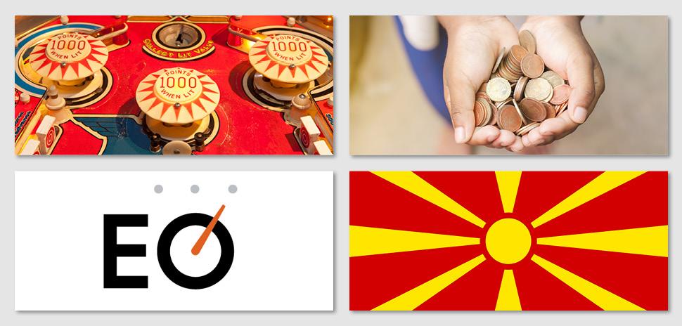 pinball school, #givingTuesday, Entrepreneurs' Organization, Macedonian Ambassador to US