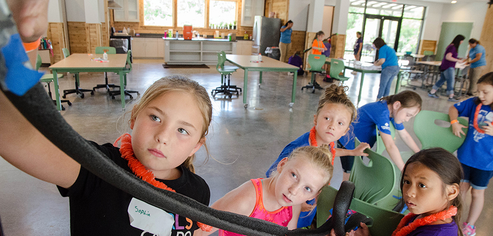 girl scouts get financial boost for south dallas stem camp