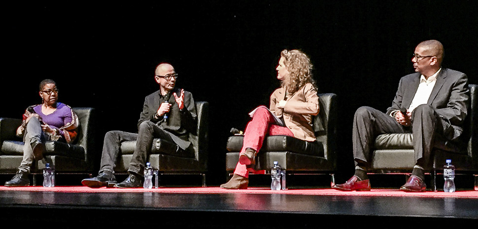 Dallas Arts Month panel discusses the intersection of Art and Architecture.