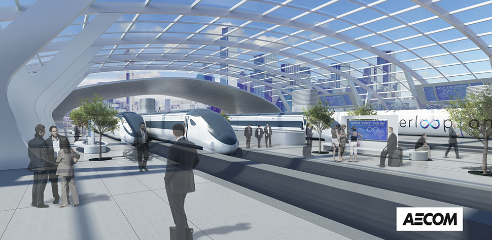 hyperloop in texas dallasled aecom group is making the