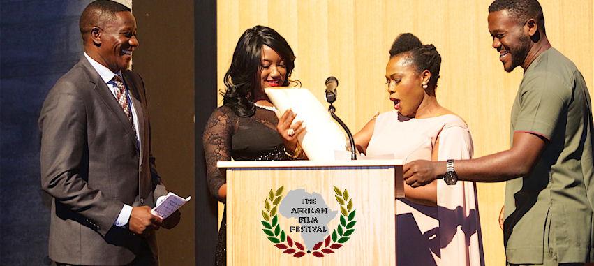 TAFF 2016 awards ceremony hosted by Uche Jombo and Benjamin Onyango.