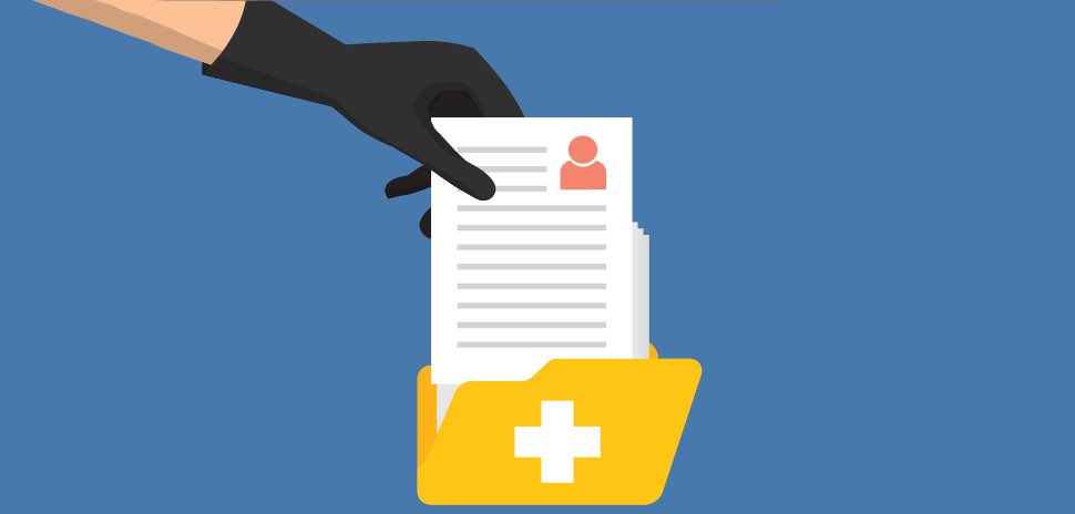 healthcare cybersecurity [ Illustration: nicescene via istockphoto ]
