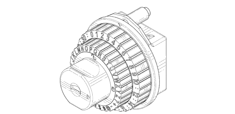 Combination lock | Design patent