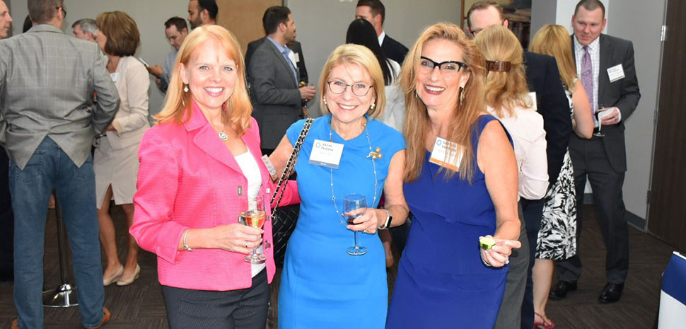 Kristy Bonner, NCH Corporation Director, Enterprise Application Services; Valerie Freeman, BravoTECH CEO; and Gertrude Van Horn, NCH Corporation CIO
