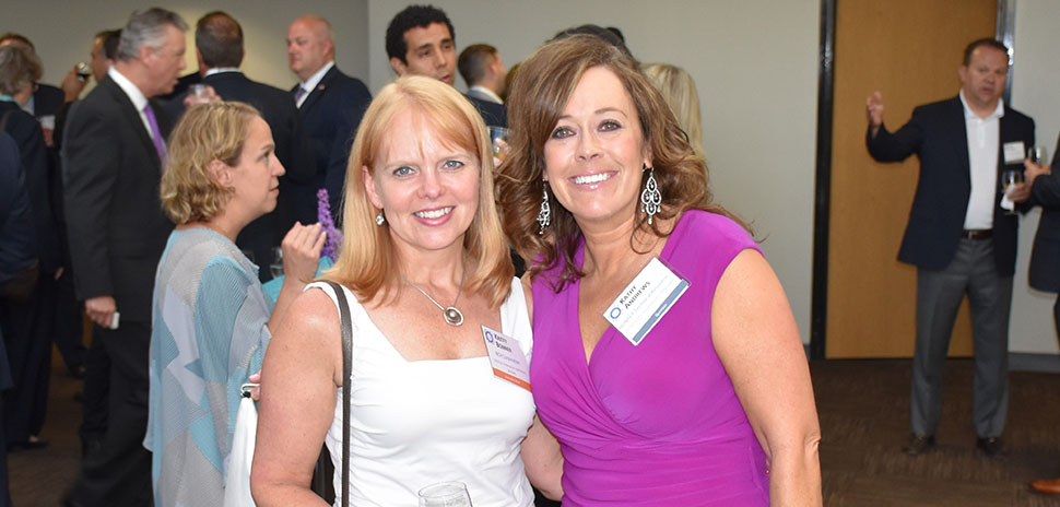 Kristy Bonner, NCH Corporation Director, Enterprise Application Services and Kathy Andrews, HUNTER Technical Sr. Business Development Manager