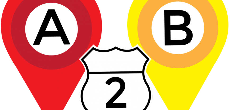 A2B, is a game that helps players learn the names and locations of major roads, major landmarks, and historical sites.