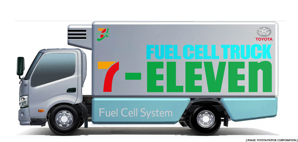 7 Eleven Toyota Collaborate On Hydrogen Fuel Cell Tech