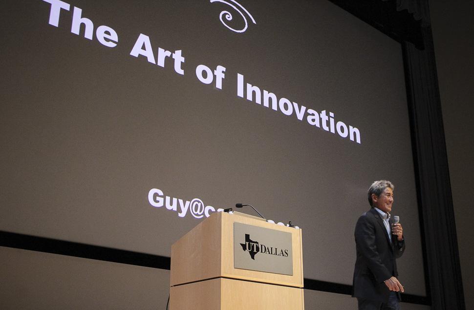 "Guy Kawasaki on ""The Art of Innovation"" at UTD Big Idea Competion 2017"