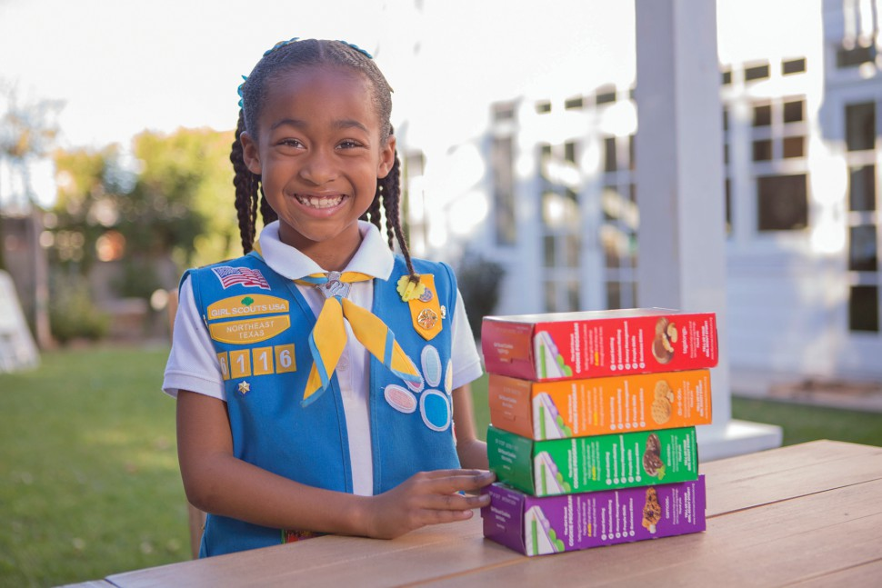 the girl scout cookie program For cookie sellers the cookie promise order taking and girl delivery option open march 2-18: community booth sales when you sell girl scout cookies, you're you're part of the largest girl-led entrepreneurial program for girls in the world being a girl scout cookie.