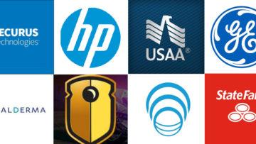 Securus, Hewlitt Packaged USAA GE Watchguard Video Genband State Farm Galderma