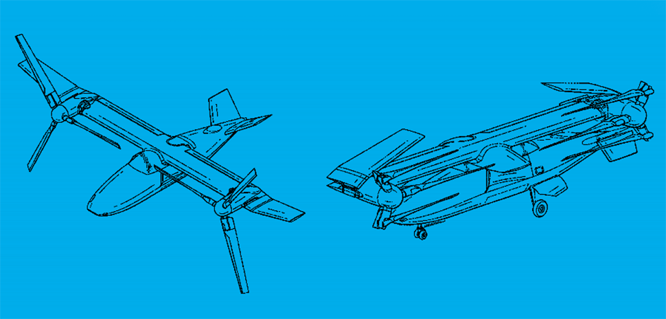 Foldable tiltrotor aircraft