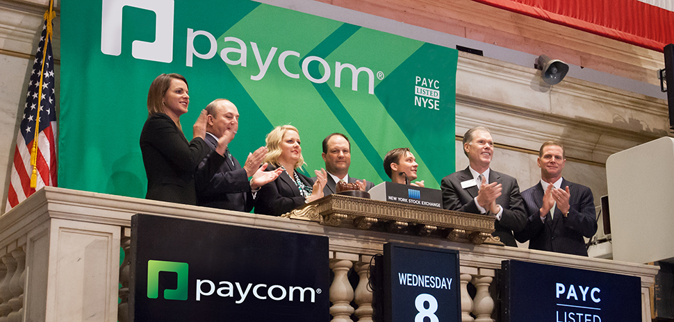 Paycom bell ringing